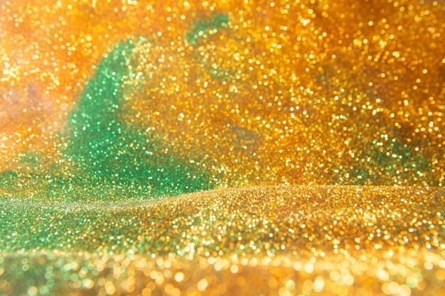 Абстрактный золотой фон Premium Фотографии