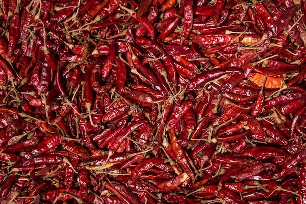 乾燥した赤い唐辛子 無料写真