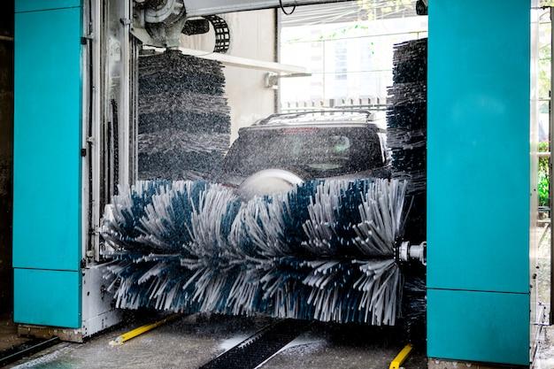 自動洗車機 Premium写真