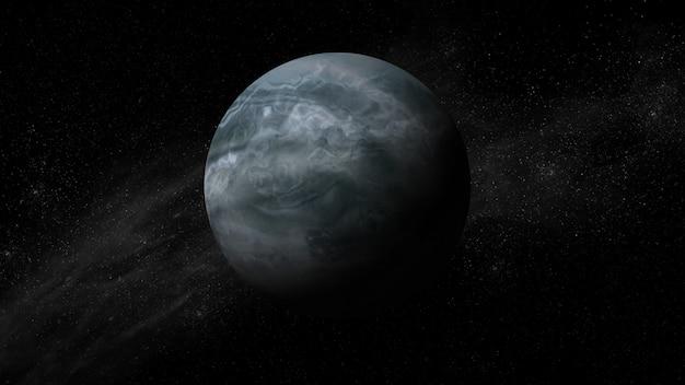 Аннотация научного фона вселенной сцены в космическом пространстве Premium Фотографии