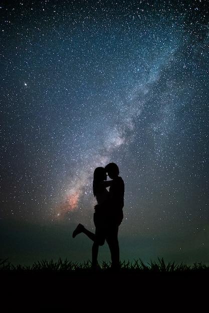 Красивые картинки пары ночью