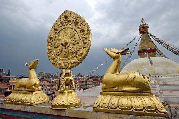 カダマンドネパール Premium写真