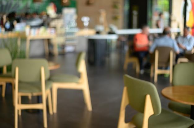 コーヒーショップバーカウンターカフェレストランリラクゼーションコンセプト Premium写真