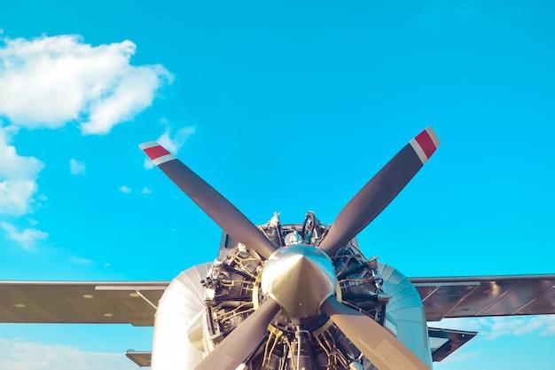 Самолетный двигатель Premium Фотографии