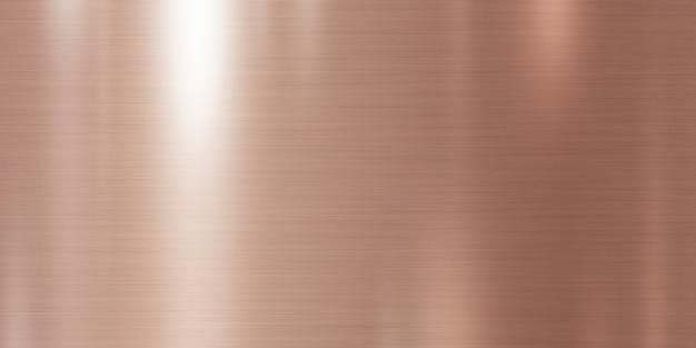 ローズゴールドメタルテクスチャ背景 Premium写真