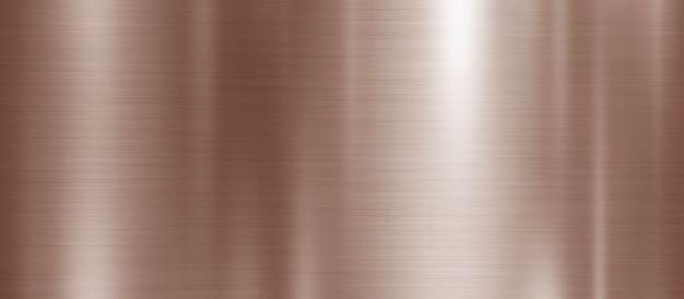 銅の金属のテクスチャ背景 Premium写真