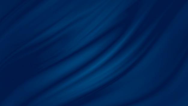 古典的な青い布の背景 Premium写真