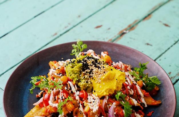 メキシコ料理。 Premium写真
