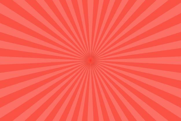 赤い光線の背景 Premium写真