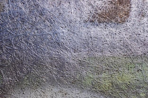 灰色の抽象的なメタリックデザインの背景。 Premium写真
