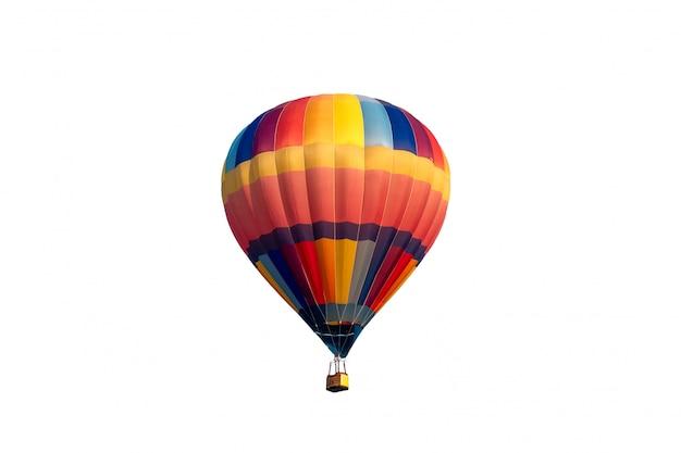 Красочный полет на воздушном шаре Premium Фотографии