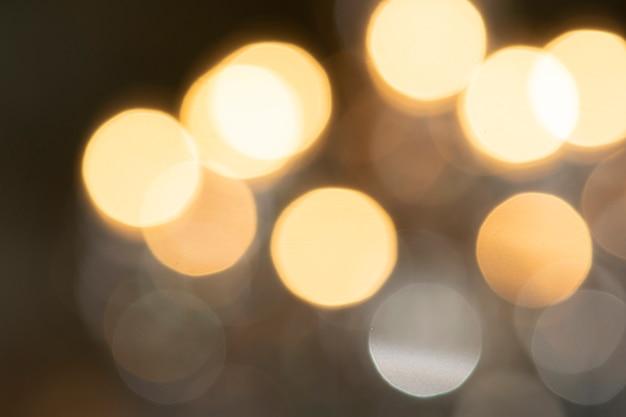 多重抽象ライトの金背景 Premium写真