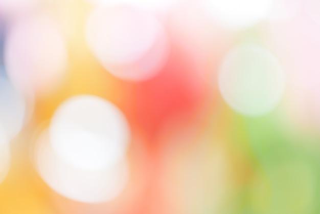 抽象的な背景カラフルなパステルボークスピンク黄色の青 Premium写真