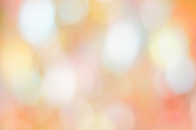 抽象的な背景カラフルなパステル調のボケ味ピンクイエローブルー Premium写真