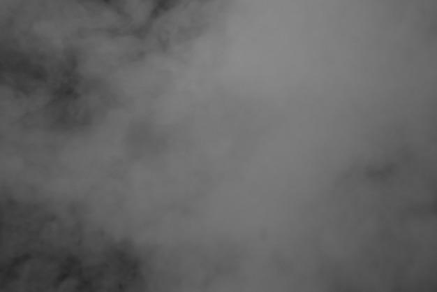 Абстрактный фон дым черный и белый Premium Фотографии
