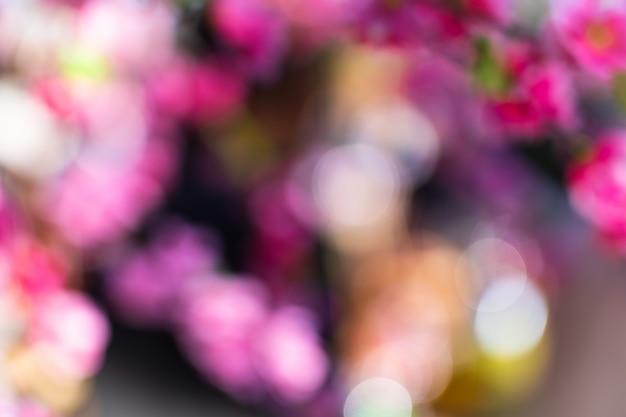抽象的なカラフルなボケ味 Premium写真