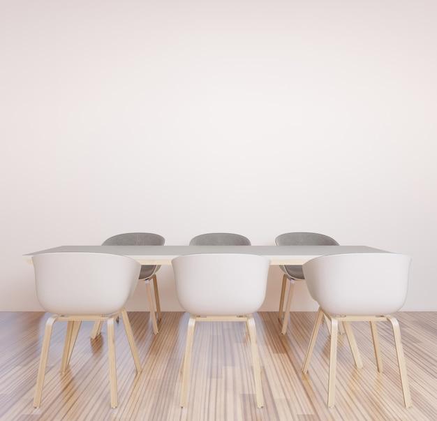 共同作業スペース、会議室、作業スペースのブレーンストーミング壁 Premium写真