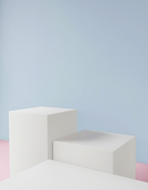 Косметический фон для презентации продукта Premium Фотографии