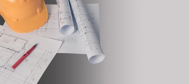 建築家、エンジニアのコンセプト、建築家の働き方を表します Premium写真
