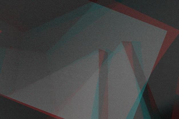 抽象的なコピーテクスチャ背景、カラー二重露光、グリッチ Premium写真