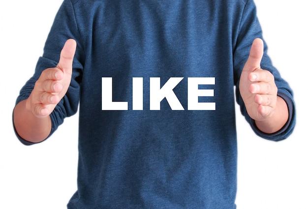 Руки мужчин с текстом, как Premium Фотографии