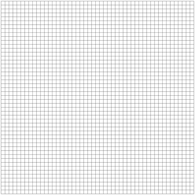 グラフグリッドは、セルの用紙の背景を二乗しました。ミリ紙シートのパターン。図。 Premium写真