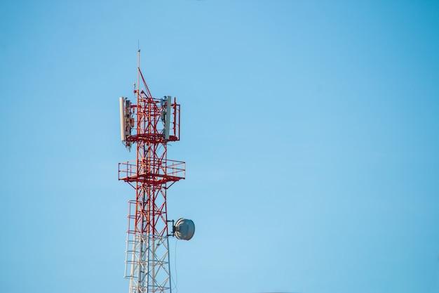 無線通信アンテナ送信機 Premium写真