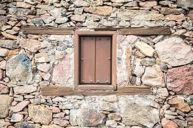 古い窓 Premium写真