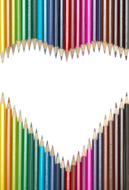 Картинка сердец не цветных карандашей слушать