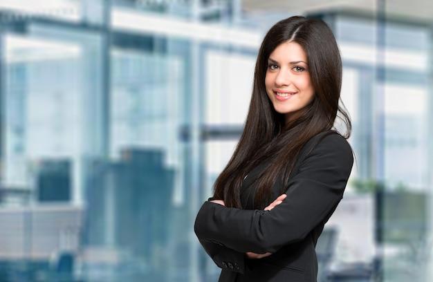 若い女性マネージャー Premium写真
