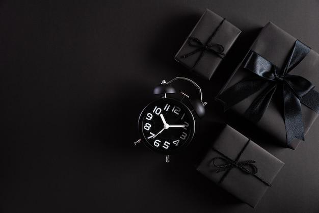 Черная пятница продажа композиция фон. Premium Фотографии