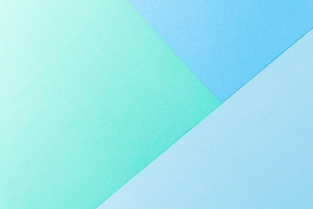 Ярко-зеленая и голубая пастельная бумага для стен. Premium Фотографии
