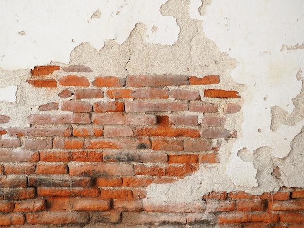 レンガの壁で作られた古い壁 Premium写真