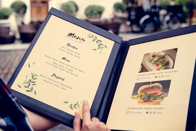 自家製料理レシピ推奨レストラン 無料写真