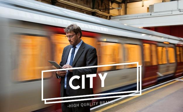 都市生活シンプルな近代生活のアイコン 無料写真
