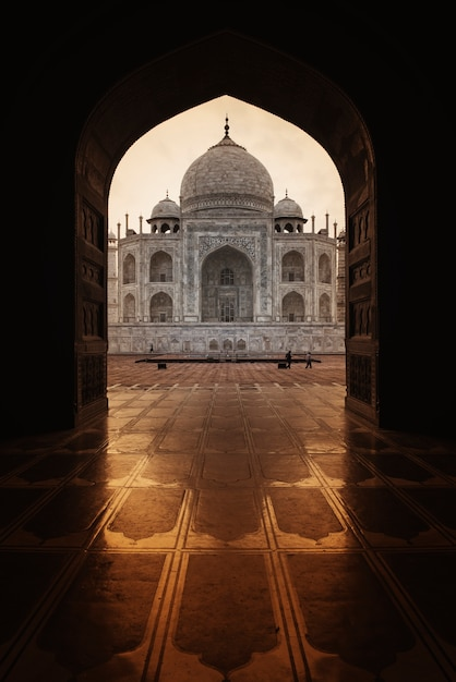 タージ・マハル、アグラ、インド 無料写真