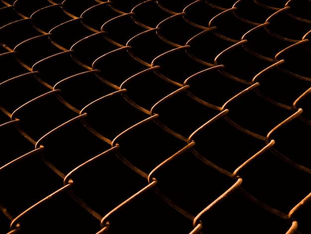 夜間溶接メッシュフェンス 無料写真