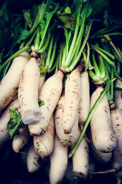 Белая редька морковь овощная пища Бесплатные Фотографии