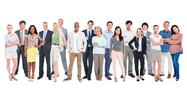 Группа разнообразных людей Premium Фотографии