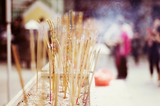 ジョス・スティック・テンプル・アジアの祈り 無料写真