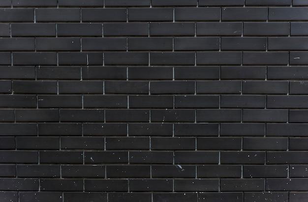 黒いレンガの壁のデザインスペース 無料写真