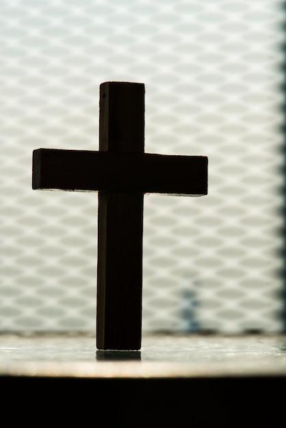 十字架の拡大 無料写真