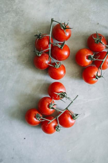 新鮮な有機チェリートマトの料理レシピのアイデア 無料写真