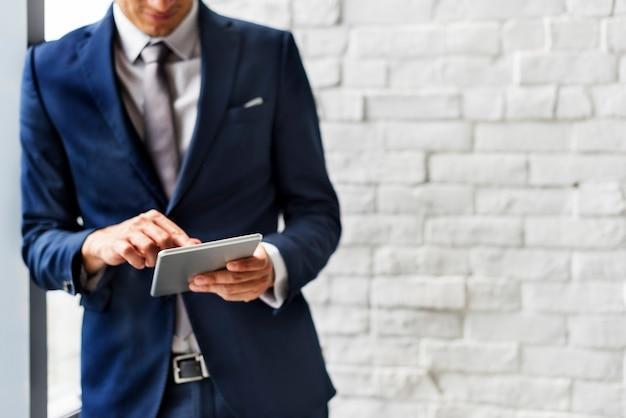 ビジネスコミュニケーション分析エンタープライズコンセプト Premium写真
