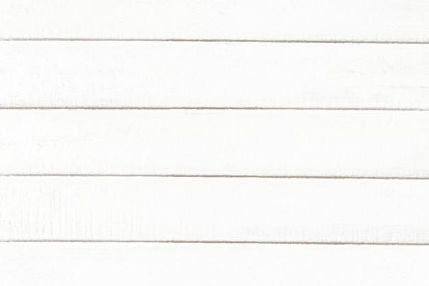 空白の白い木のテクスチャの背景 無料写真