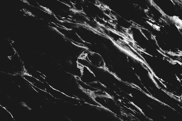 黒大理石のテクスチャ壁の背景 無料写真