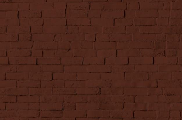 茶色のレンガの壁のテクスチャ背景 無料写真