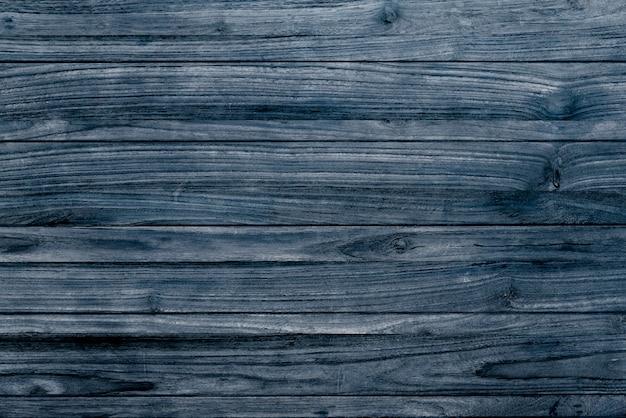 青い木のテクスチャの床の背景 無料写真