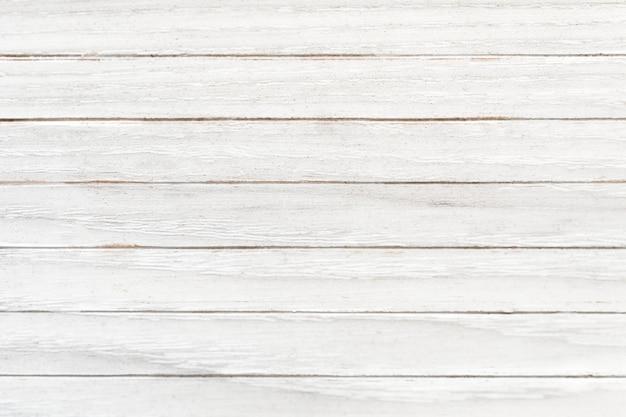白い木のテクスチャの床の背景 無料写真