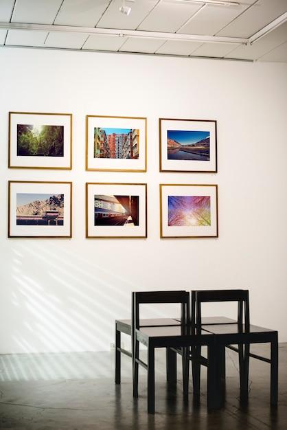 アートギャラリー Premium写真